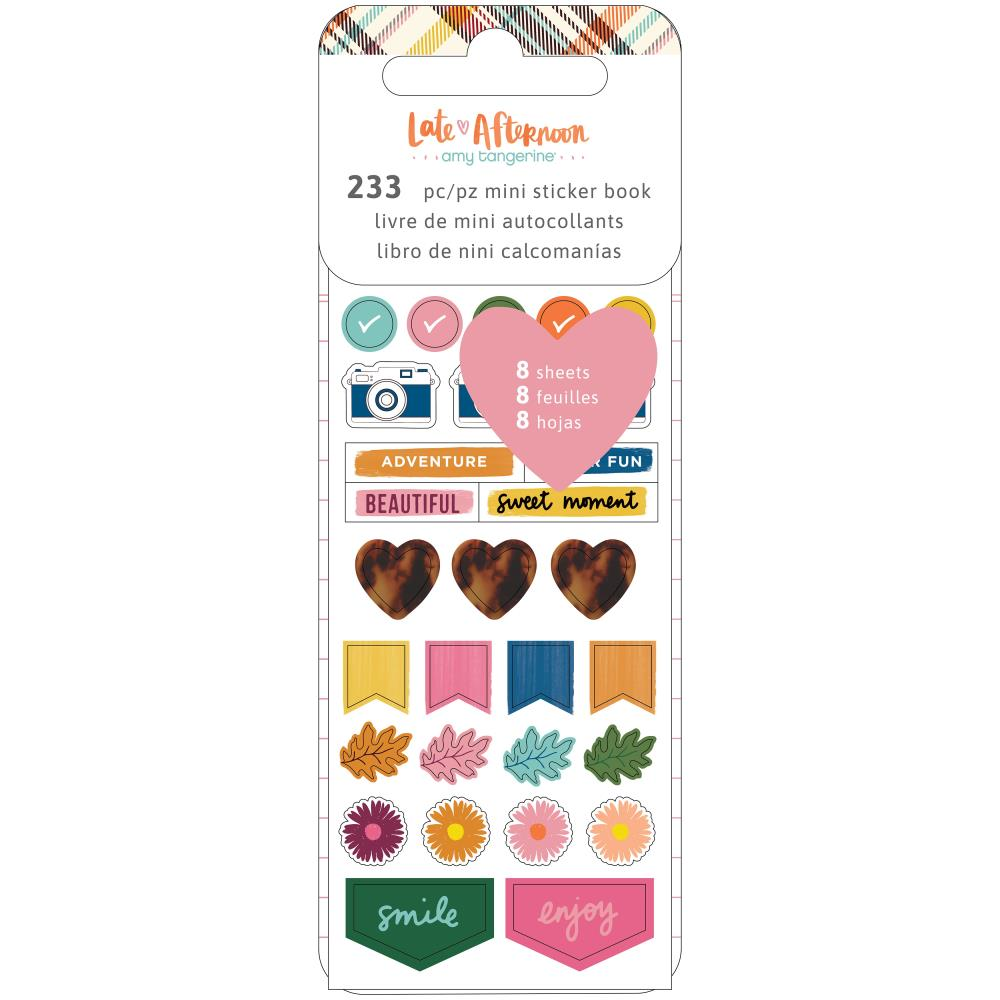 Libro de mini  Stickers- Late afternoon