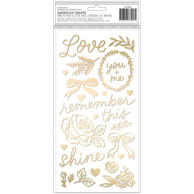 Stickers frase- Marigold- Lovely