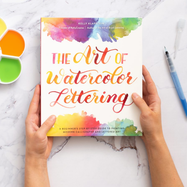 Libro- The art of watercolor lettering