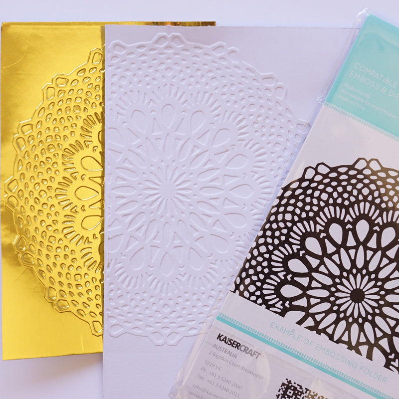 Matriz de Embossing - Doilly
