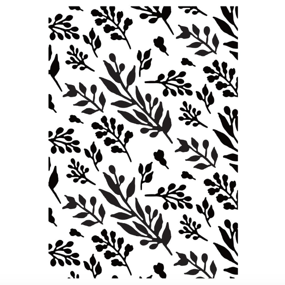 Matriz de Embossing - Foliage