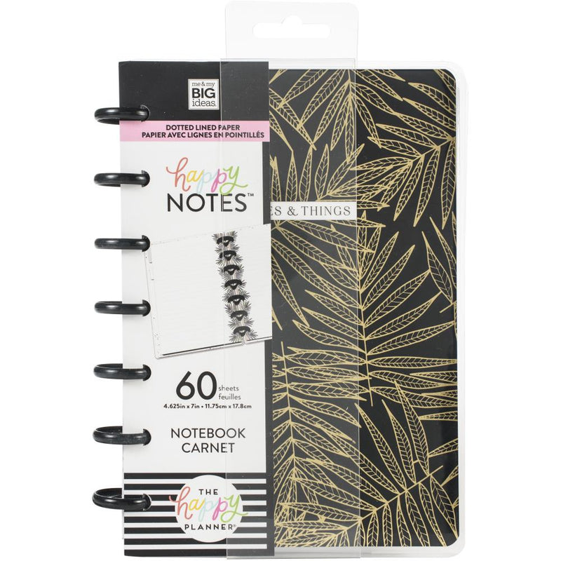 Cuaderno Mini Happy notes- Notes & Things Leaves