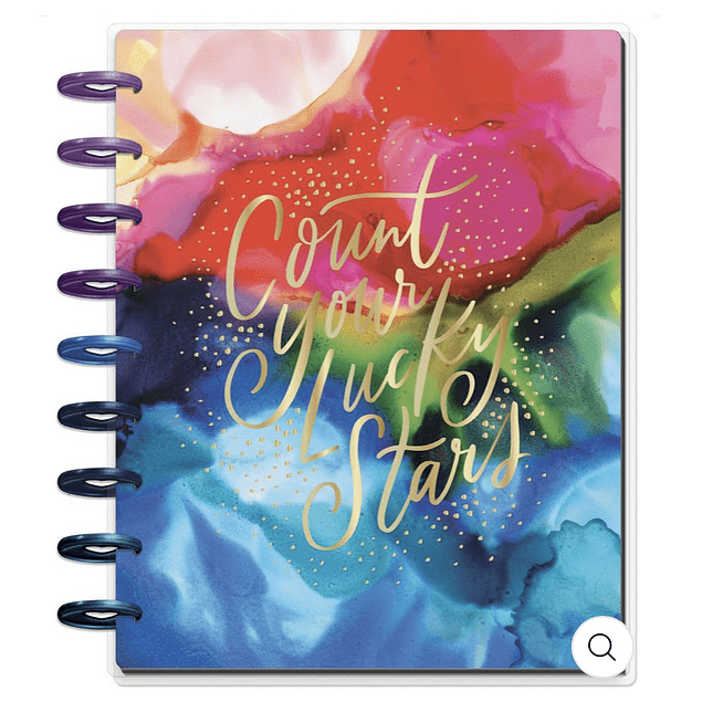Classic Happy Planner - Ink Splash