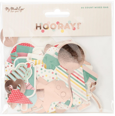 DIE CUTS HOORAY - MIXED BAG