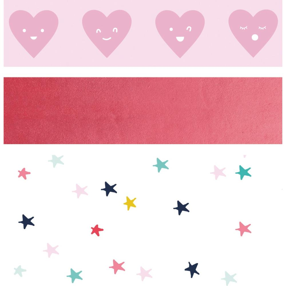 Set 3 washi tapes- Glorious