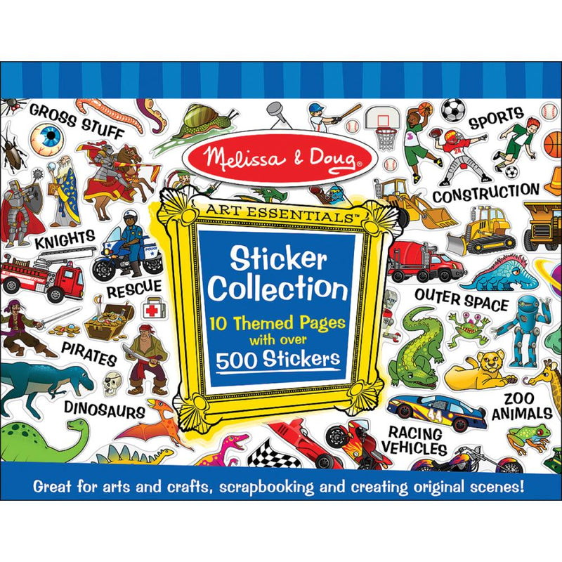 Libro de Stickers Melissa & Doug- Blue