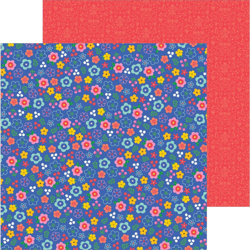 Papel 12x12 doble cara Big Top Dreams- Confetti