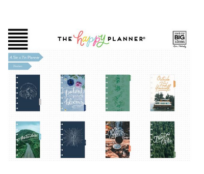 Mini Happy Planner - Wild and free - 12 Months (2019-2020)