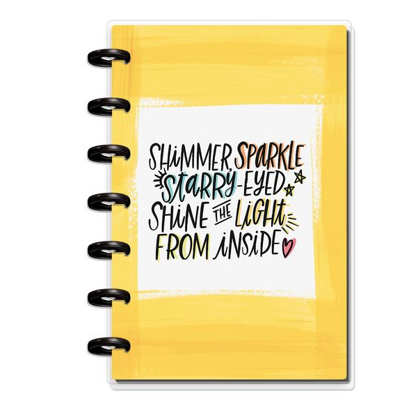 Mini Happy Planner - Choose to shine - 12 Months (2019-2020)