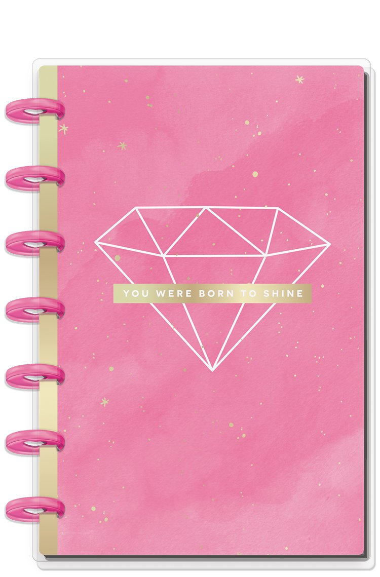 Cuaderno Mini Happy notes- Born to shine