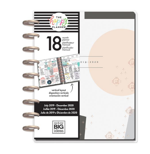 Classic Happy Planner - Modern Peach