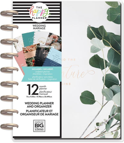 Classic Happy Planner - Wedding Aventure