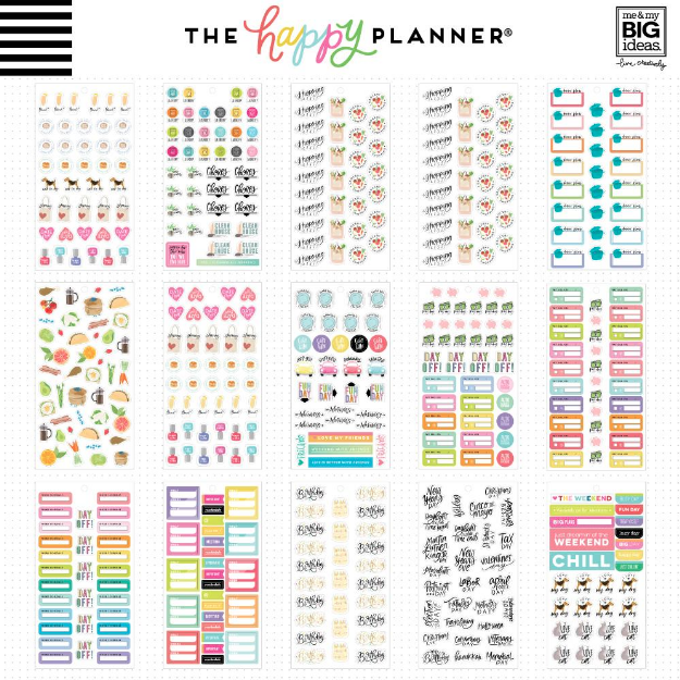 Libro Planner stickers - Essential Planning