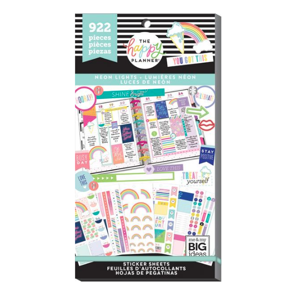 Libro Planner stickers - Neon Lights