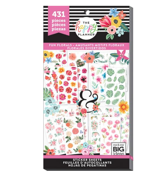 Libro Planner stickers - Romantic florals