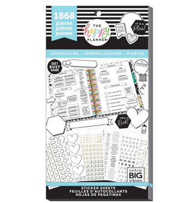 Libro Planner stickers - Journaling