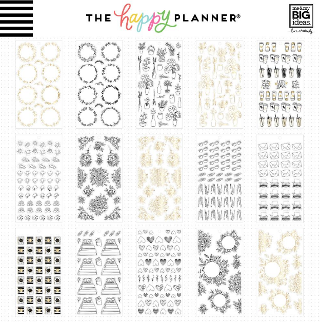 Libro Planner stickers - Journal doodles