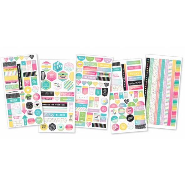 Planner stickers - Washi stickers - Coffee time