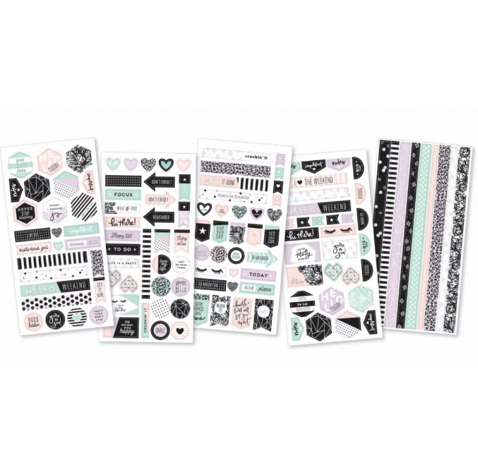 Planner stickers - Washi stickers - Live big