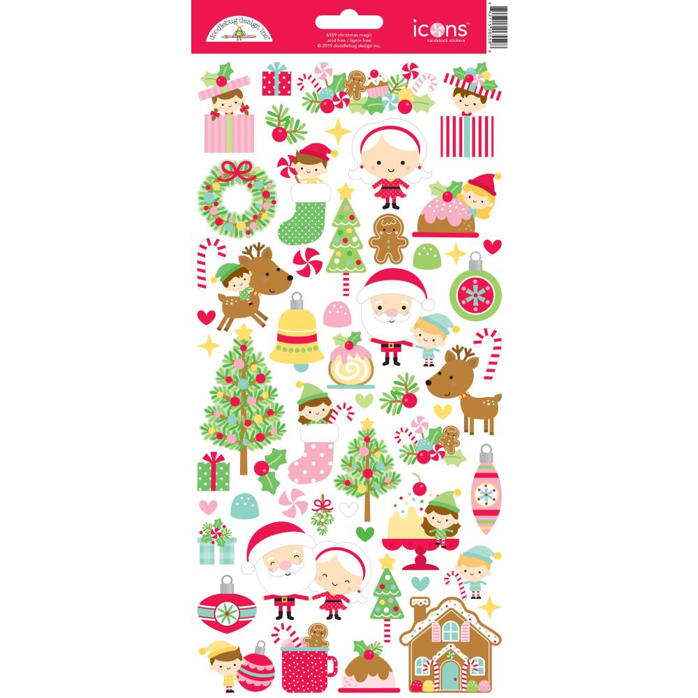 Stickers- Xmas magic