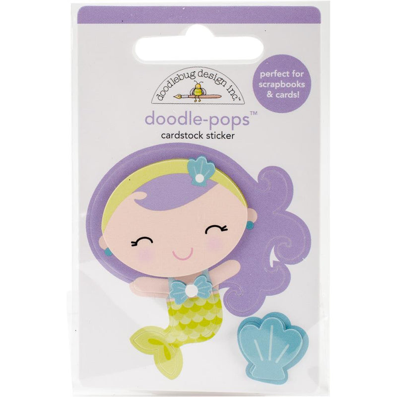 STICKERS 3D DOODLEPOP - MINI MERMAID