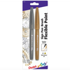 Pentel Sign Brush pen - Gold Silver