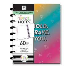 Cuaderno Happy notes- Rainbow be bold