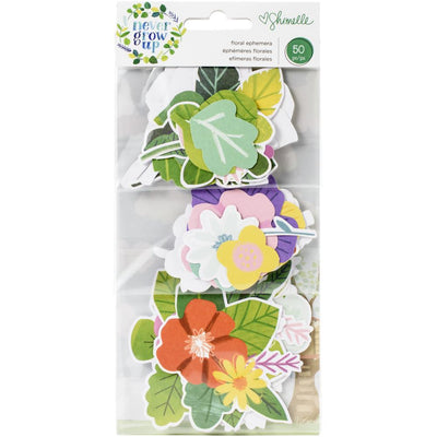 Die cuts - Never grow up Floral
