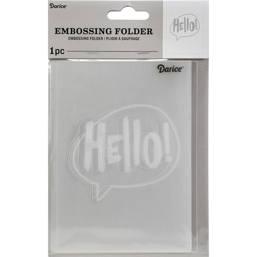 Matriz de Embossing - Hello