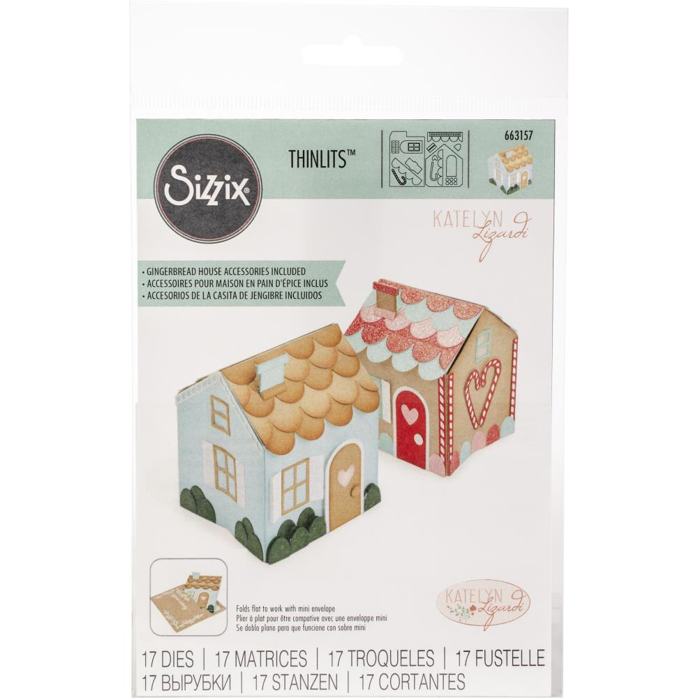 Matriz de corte Sizzix Thinlits- Casita mini house