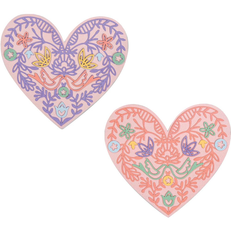 Matriz de corte Sizzix Thinlits- Lace Heart