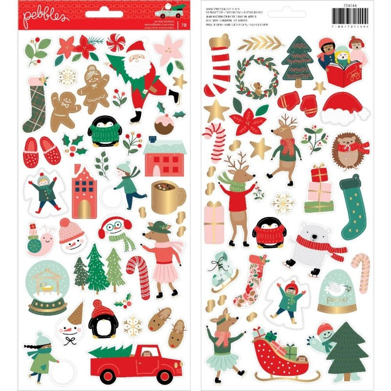 Stickers 6x12 -Merry Little Christmas