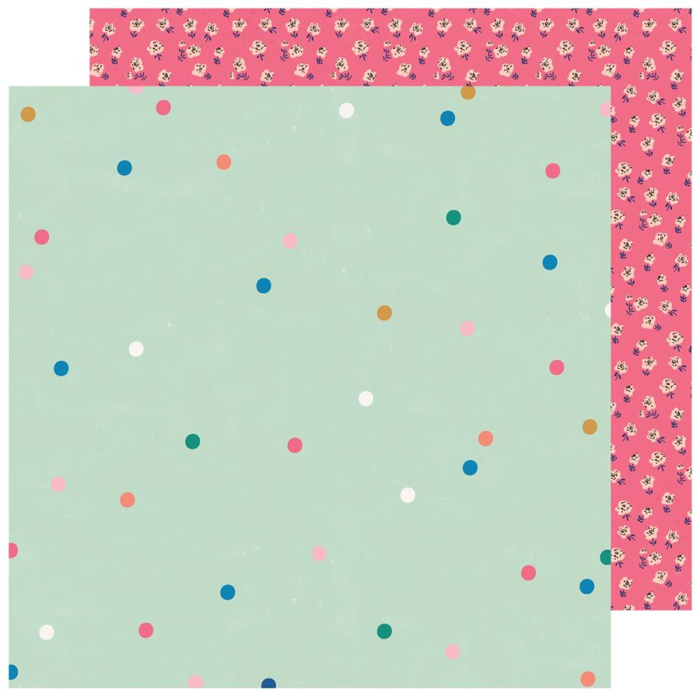 Papel 12x12 doble cara Sweet story- Sparkle