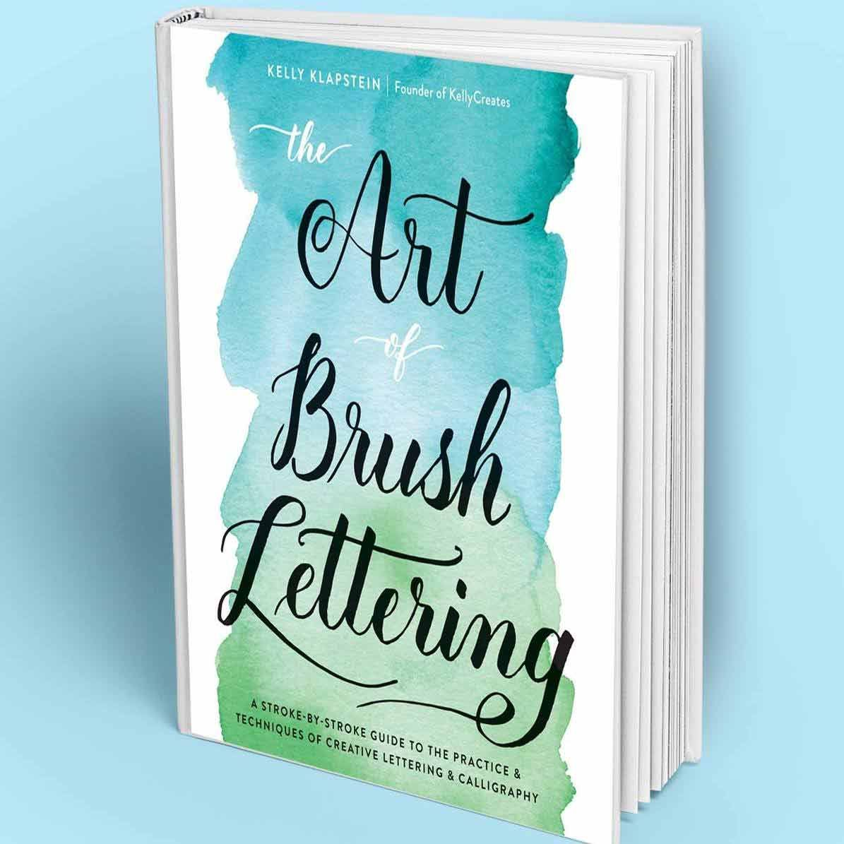 Libro The art of brush lettering- Kelly Creates