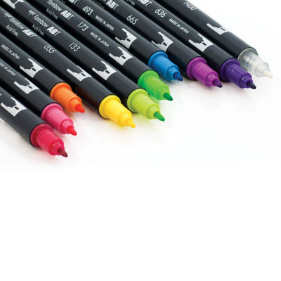 TOMBOW DUAL Set 10 colores -Brights