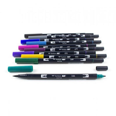 TOMBOW DUAL Set 10 colores - Bohemian