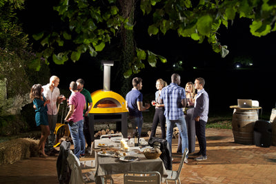 ALLEGRO - Pizza Oven with Base - Yellow