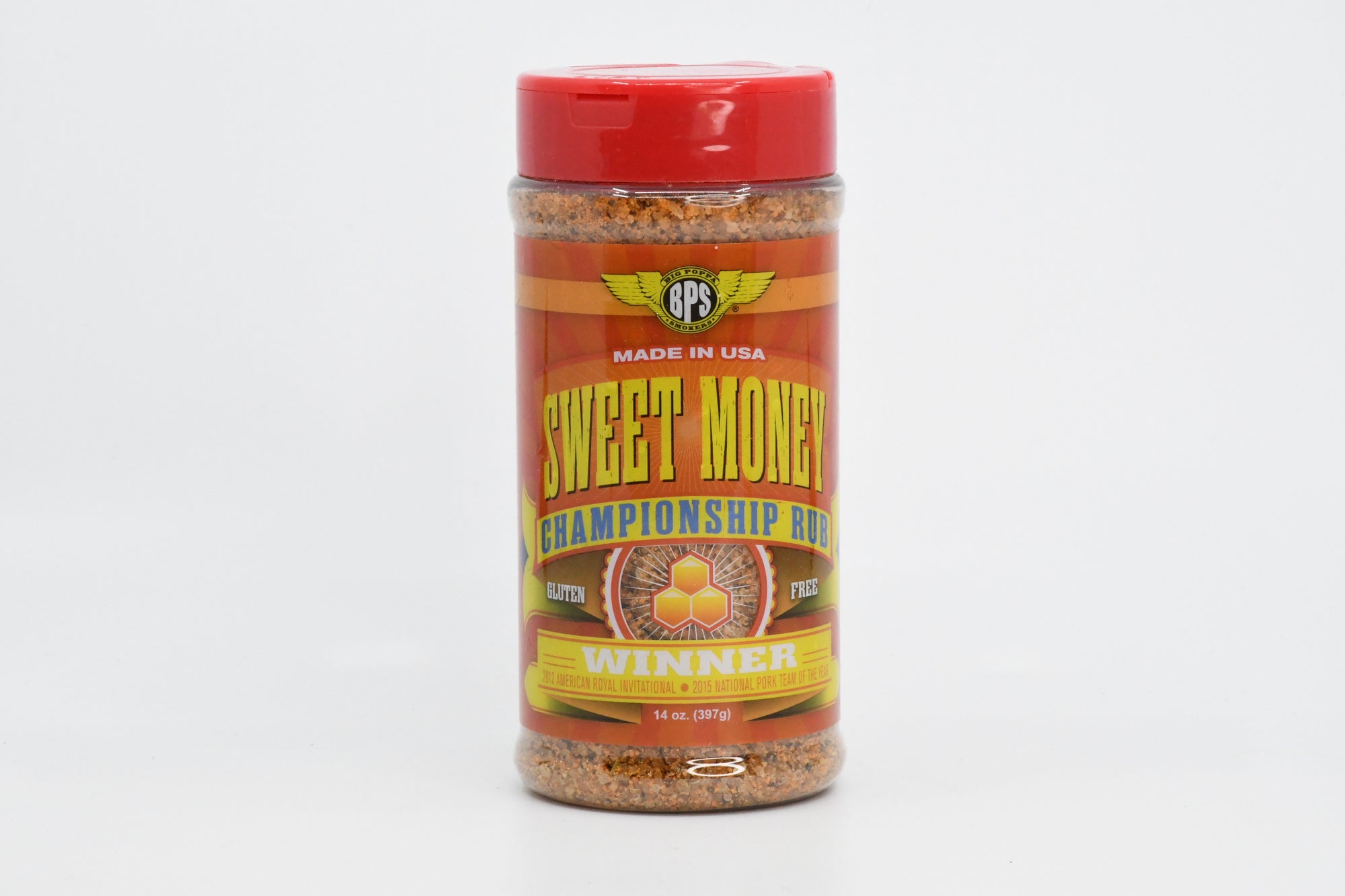 Sweet Money BBQ Rub 14oz