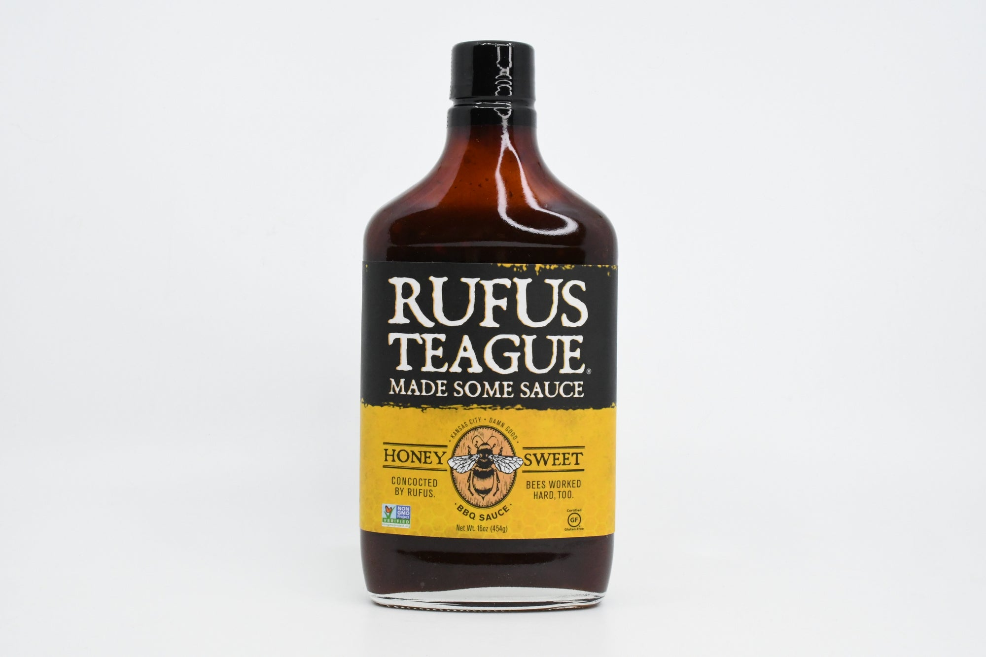 Rufus Teague - Honey Sweet BBQ Sauce 16oz