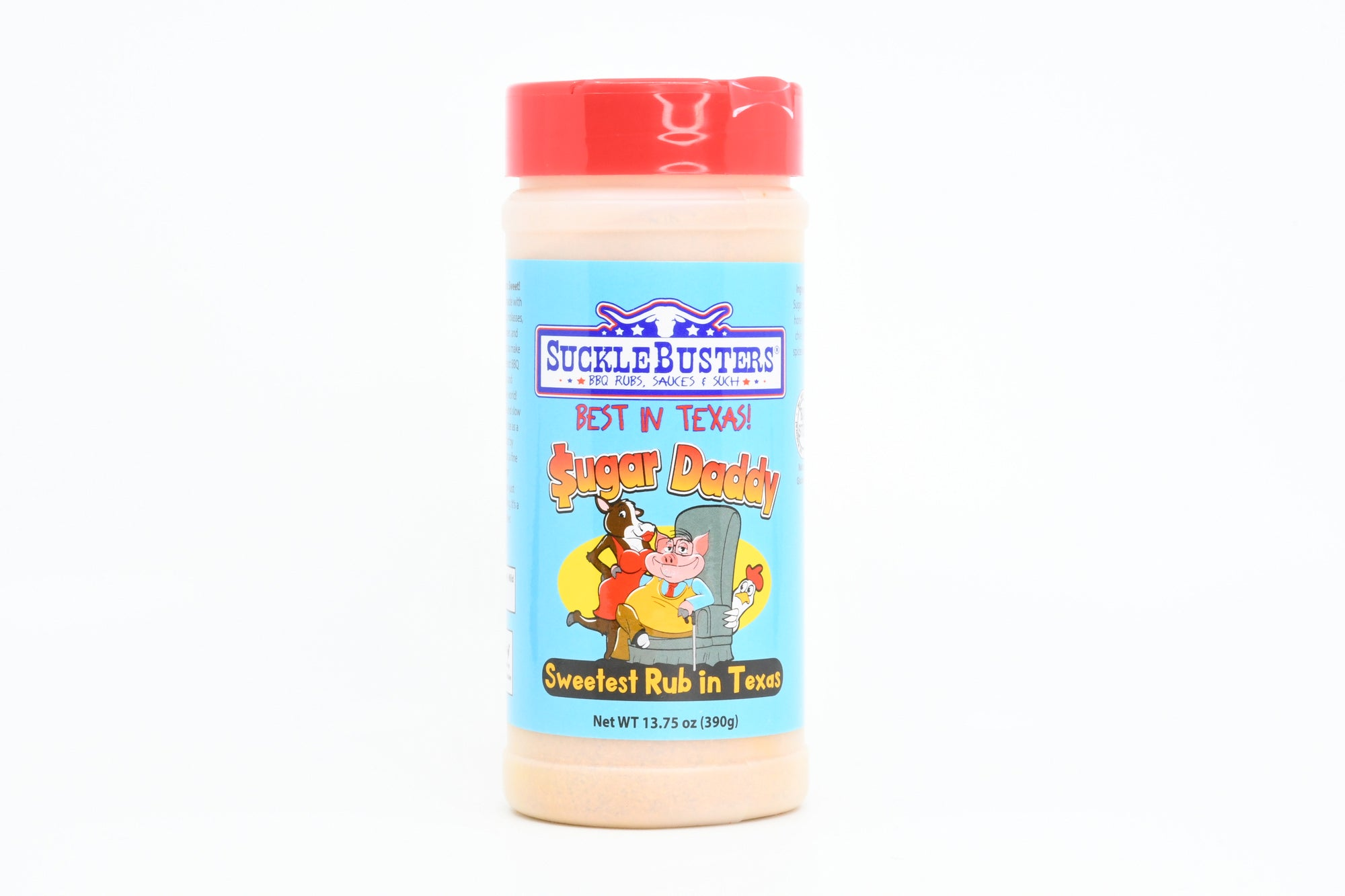Sugar Daddy BBQ Rub 13.75oz