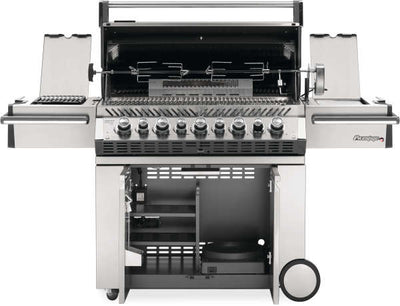 Prestige Pro 665 LP - With Side Infared and Rear Burner