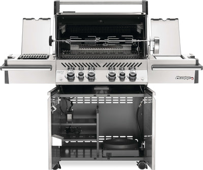 Prestige Pro 500 LP - With Side Infared and Rear Burner
