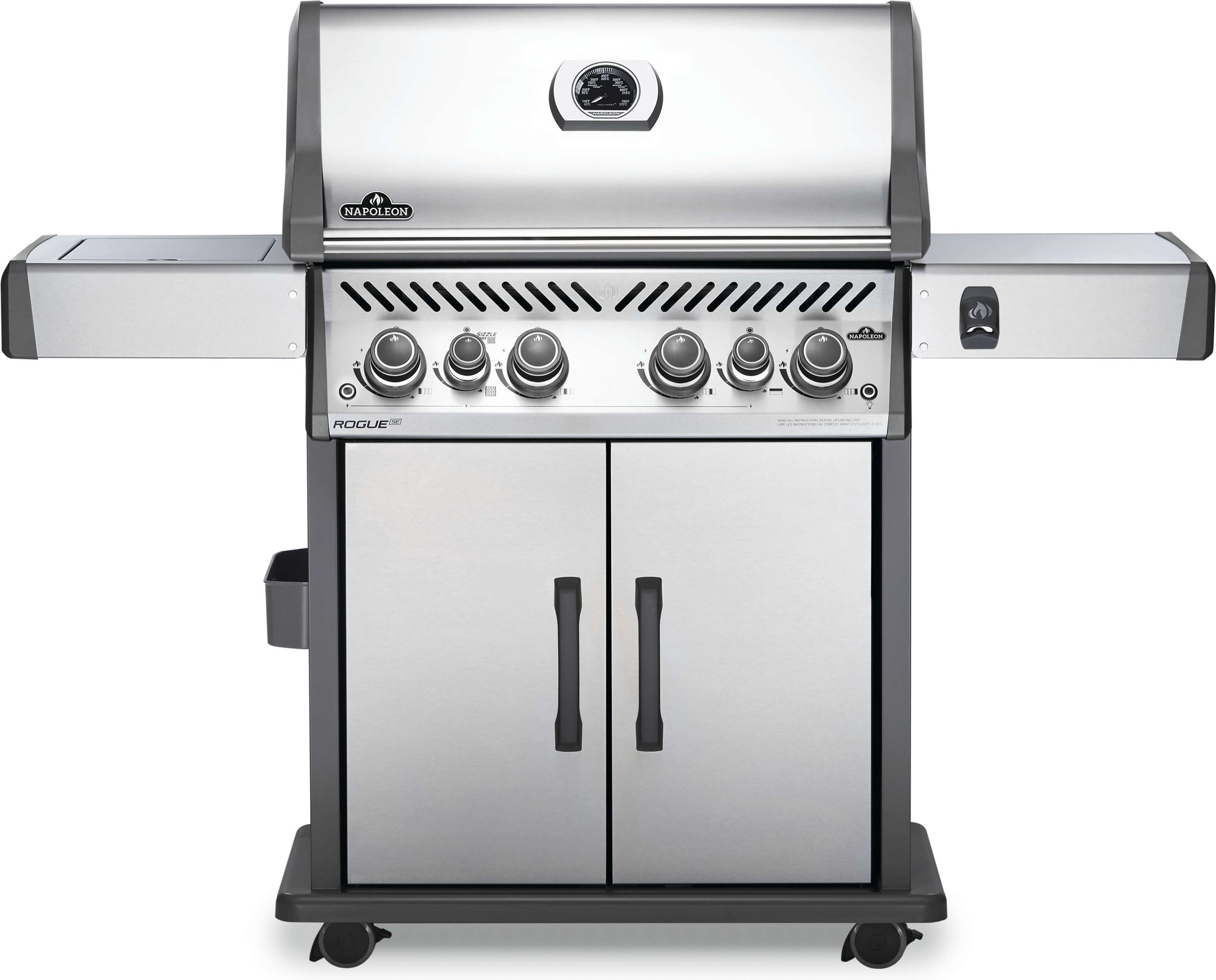 Rogue SE 525 LP - Stainless Steel with Side Infared and Rotisserie Burner