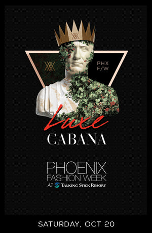 Luxe Cabana Saturday, October 20, 2018