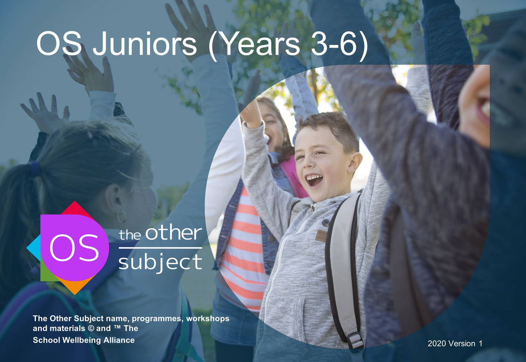 OS Juniors (Years 3-6) – Extra participants