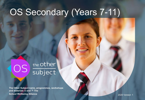 OS Secondary (Years 7-11) – Extra participants