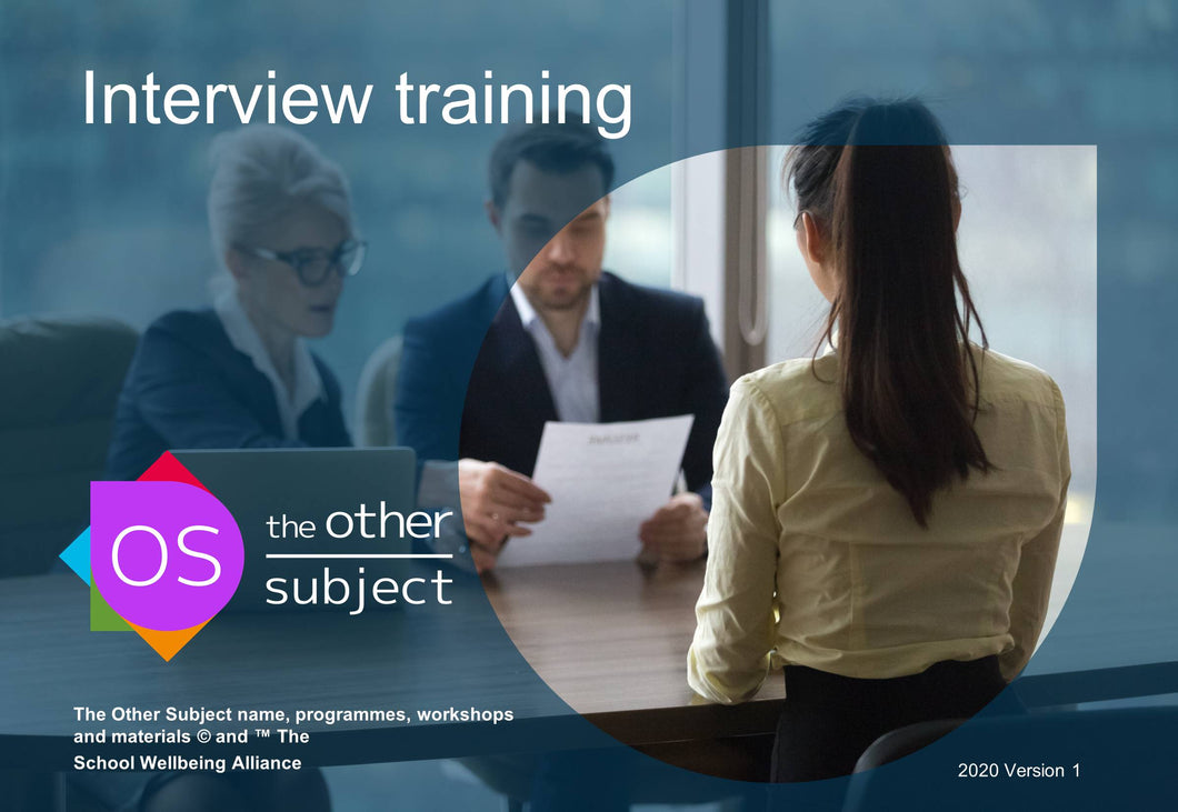 Interview training- Extra participants