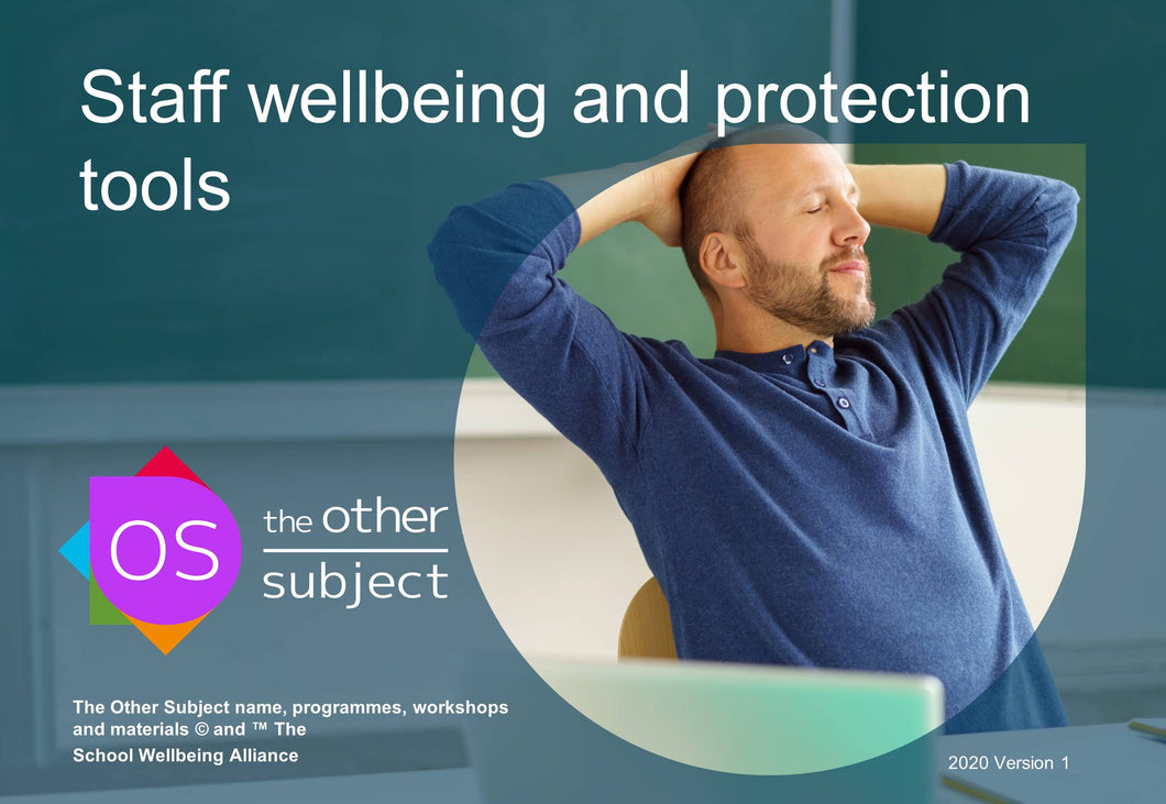 Staff wellbeing and protection tools - Extra participants