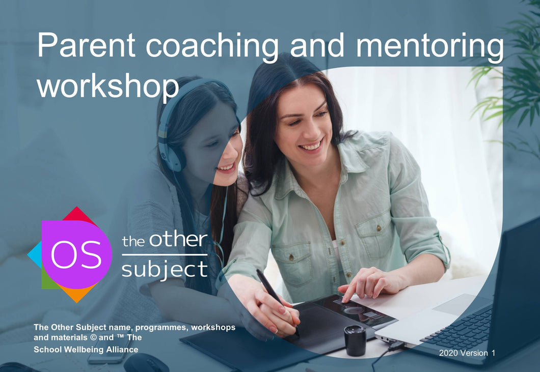 Parent coaching and mentoring workshop