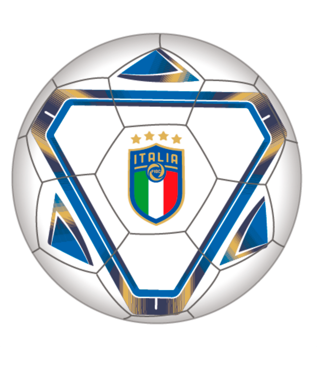Puma FIGC Italy Training 6 MS Ball 083343 01